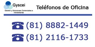 Gyscei Bienes Raíces Telefonos